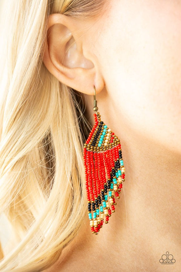 bodaciously-bohemian-red-earrings-paparazzi-accessories