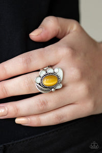 fairytale-magic-yellow-ring-paparazzi-accessories