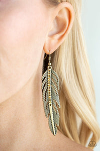 give-me-a-roost-brass-earrings-paparazzi-accessories