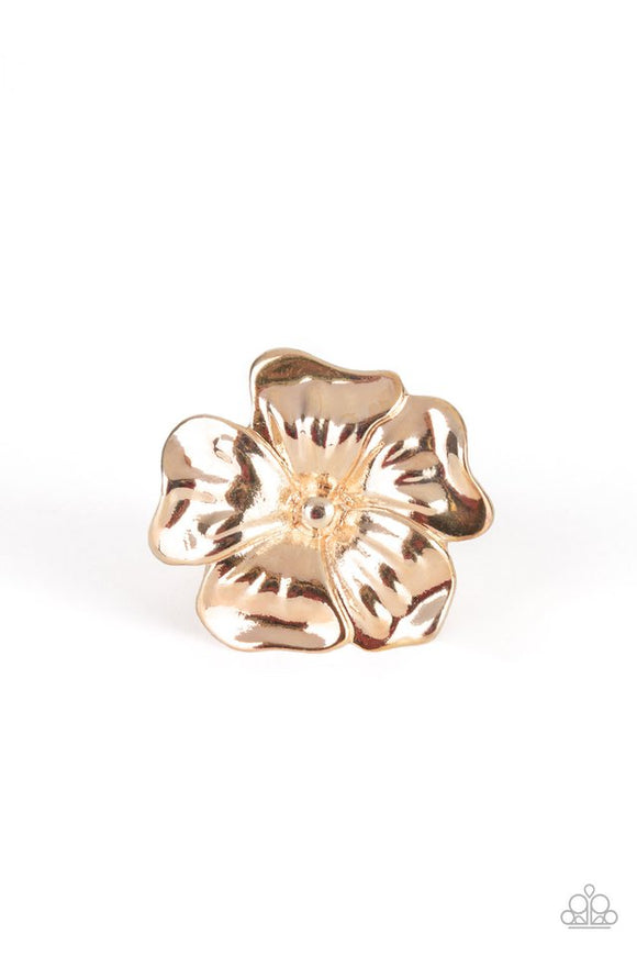 tropical-gardens-rose-gold-ring-paparazzi-accessories