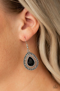 limo-service-black-earrings-paparazzi-accessories