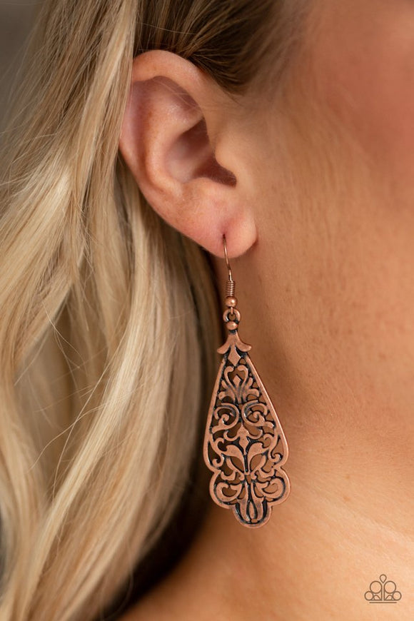 greenhouse-goddess-copper-earrings-paparazzi-accessories