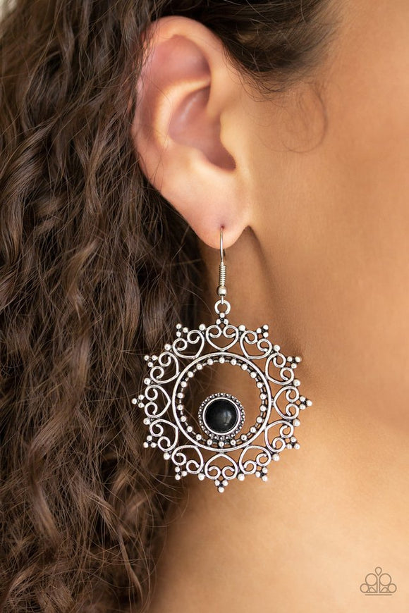 wreathed-in-whimsicality-black-earrings-paparazzi-accessories