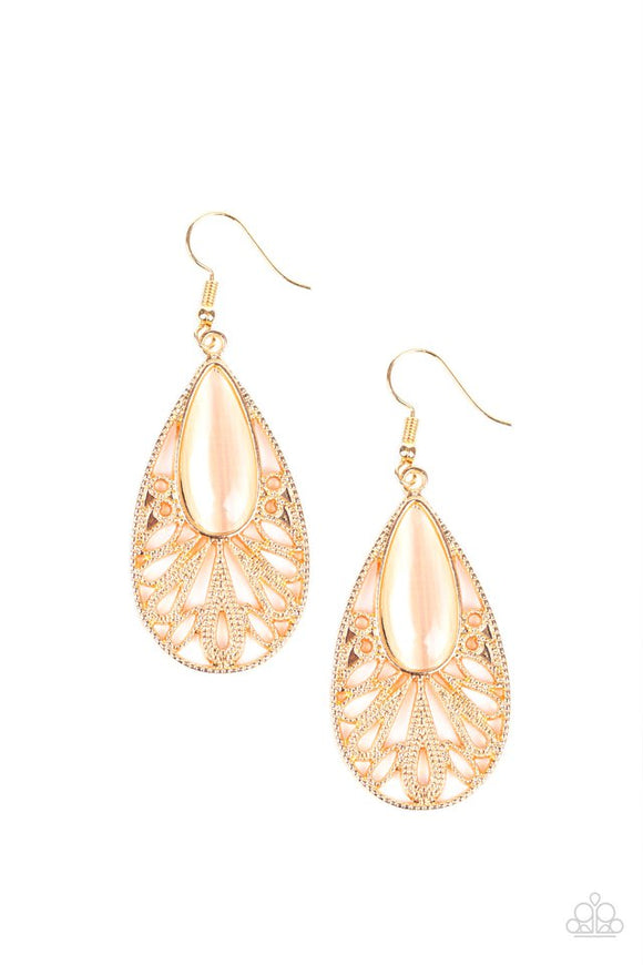 glowing-tranquility-gold-earrings-paparazzi-accessories