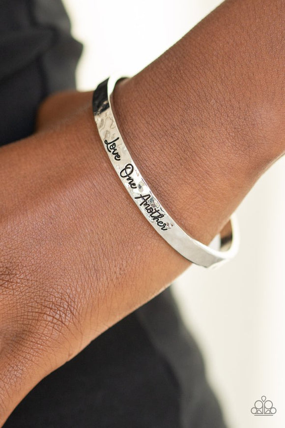 love-one-another-silver-bracelet-paparazzi-accessories