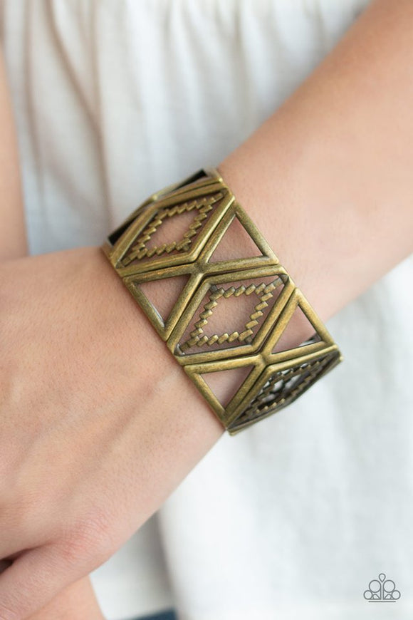 textile-tango-brass-bracelet-paparazzi-accessories