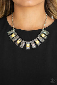 the-mane-contender-yellow-necklace-paparazzi-accessories
