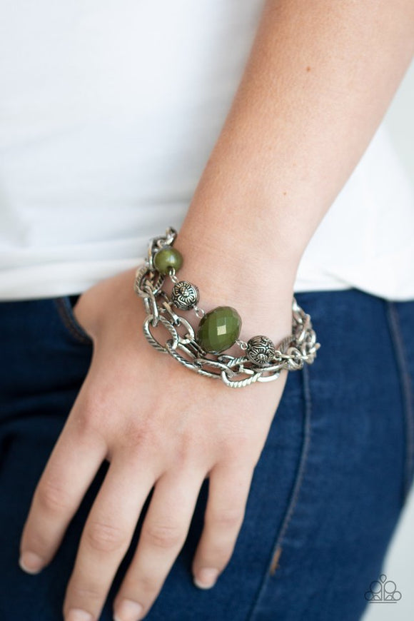mega-malibu-green-bracelet-paparazzi-accessories