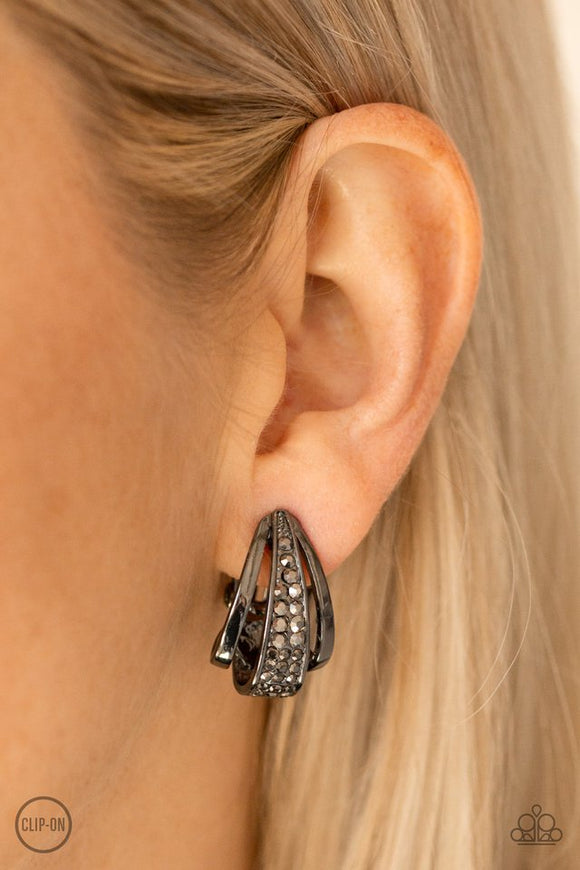 bank-night-black-clip-on-earrings-paparazzi-accessories