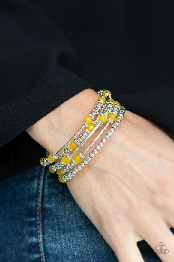 colorful-charisma-yellow-bracelet-paparazzi-accessories