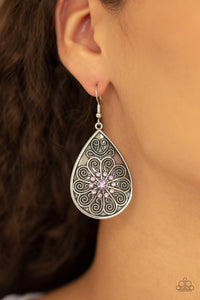 banquet-bling-purple-earrings-paparazzi-accessories