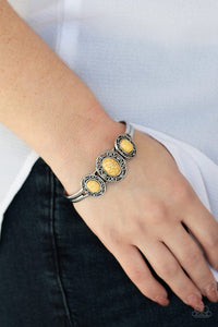 stone-sage-yellow-bracelet-paparazzi-accessories