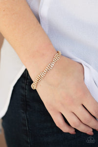 braided-twilight-gold-bracelet-paparazzi-accessories