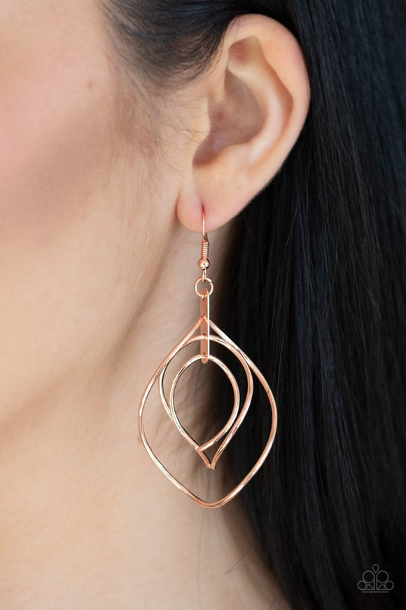 asymmetrical-allure-copper-earrings-paparazzi-accessories