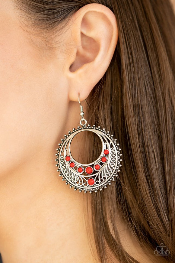 boho-bliss-red-earrings-paparazzi-accessories