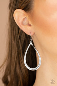 very-enlightening-silver-earrings-paparazzi-accessories