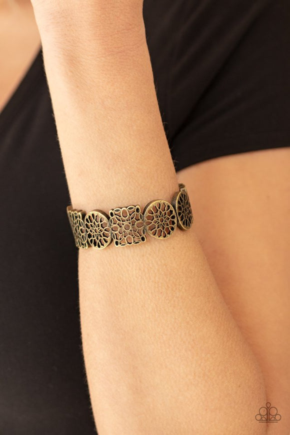 mandala-mixer-brass-bracelet-paparazzi-accessories