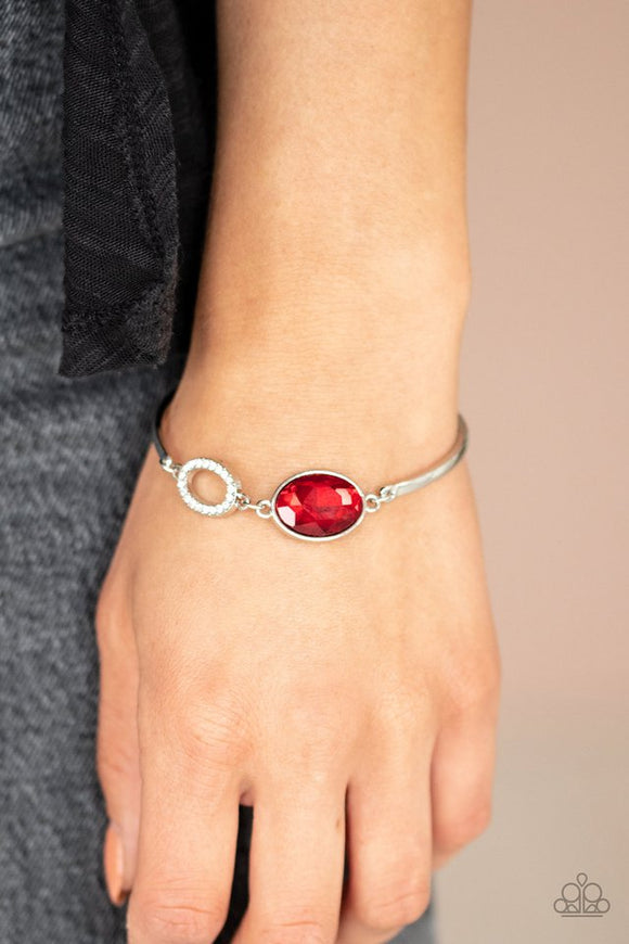 glamorous-glow-red-bracelet-paparazzi-accessories