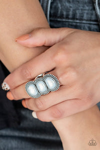 radiant-rubble-white-ring-paparazzi-accessories