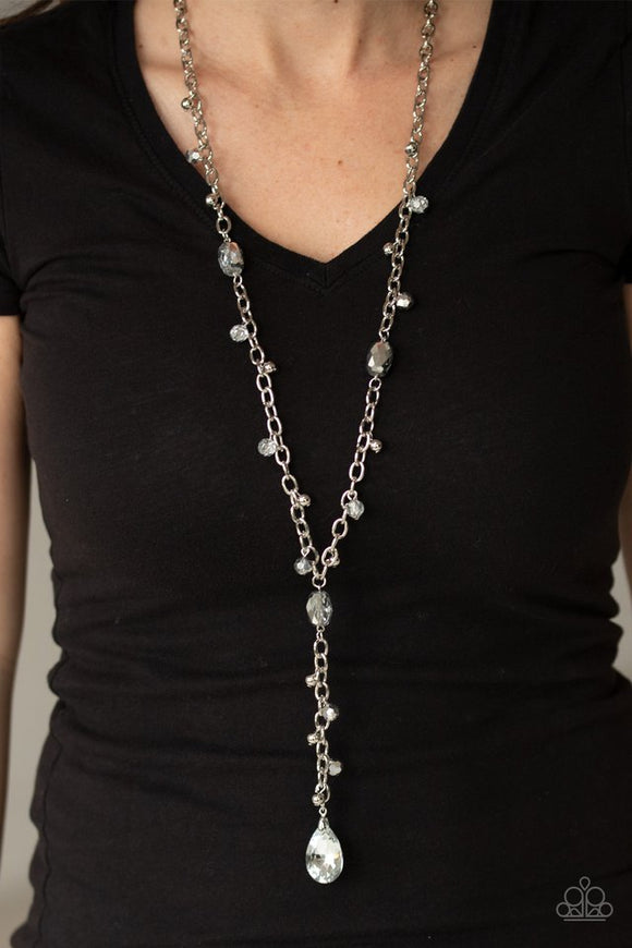 afterglow-party-silver-necklace-paparazzi-accessories