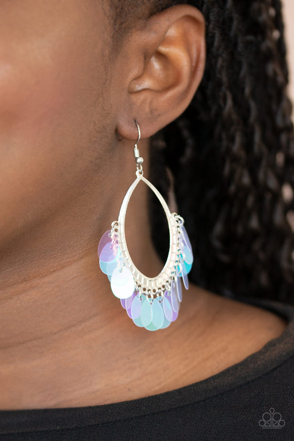 Mermaid Magic - Multi Earrings - Paparazzi Accessories