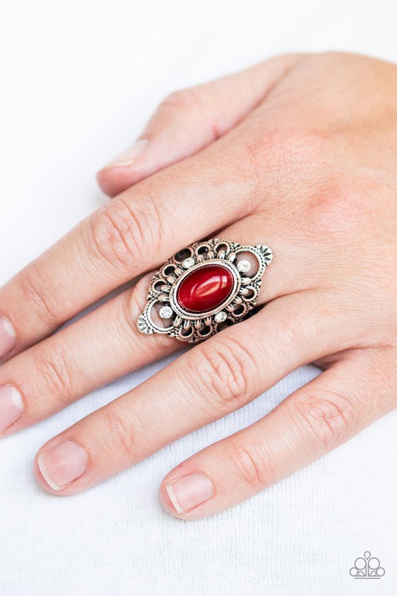 elegantly-enchanted-red-ring-paparazzi-accessories