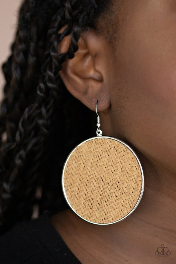 wonderfully-woven-brown-earrings-paparazzi-accessories