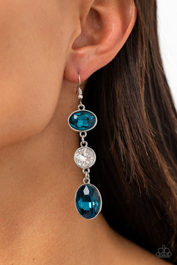 the-glow-must-go-on-blue-earrings-paparazzi-accessories