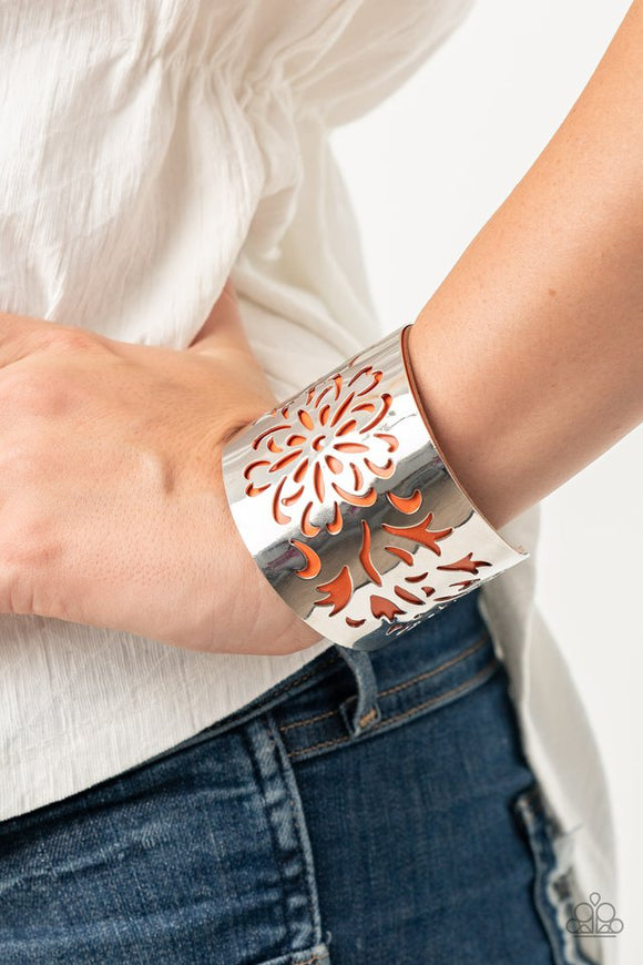 get-your-bloom-on-orange-bracelet-paparazzi-accessories