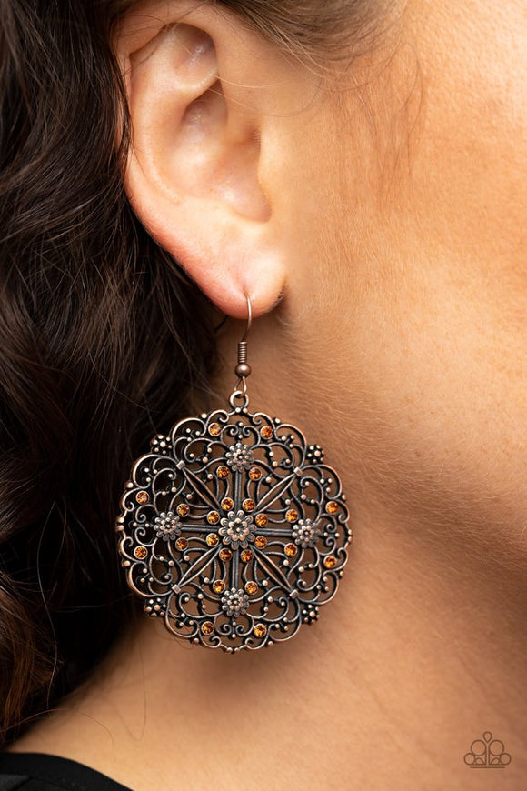 oh-mandala-copper-earrings-paparazzi-accessories