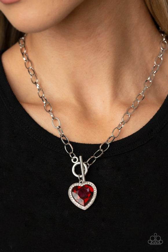 check-your-heart-rate-red-necklace-paparazzi-accessories