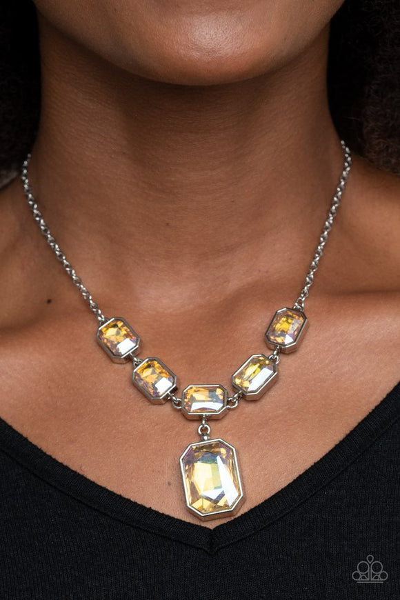 million-dollar-moment-yellow-necklace-paparazzi-accessories