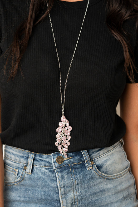 Take a Final BOUGH - Pink Necklace - Paparazzi Accessories