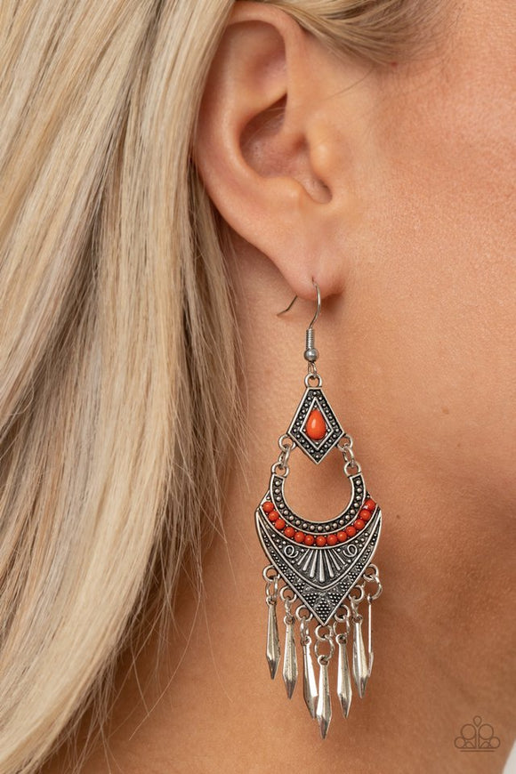 trailblazer-beam-orange-earrings-paparazzi-accessories