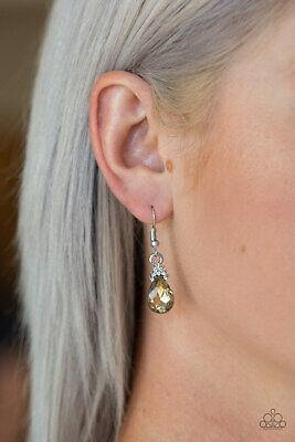 5th Avenue Fireworks - Brown Earrings - Paparazzi Accessories