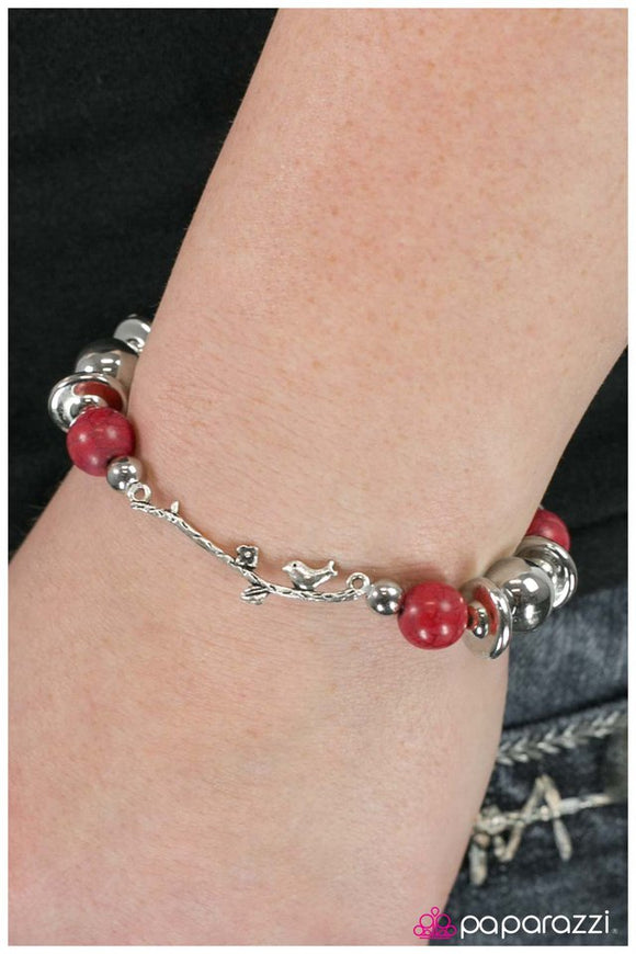 a-little-bird-told-me-red-bracelet-paparazzi-accessories