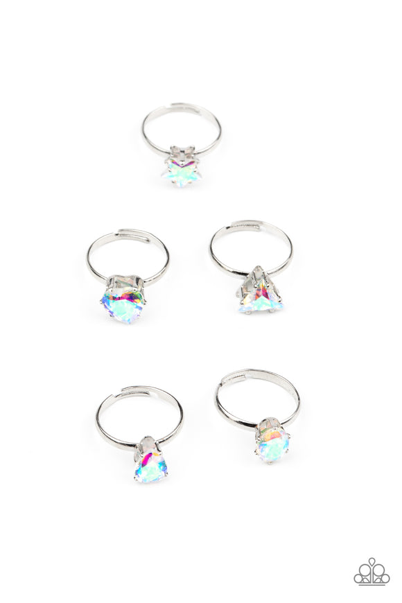 Starlet Shimmer - Kids Rings - P4SS-MTXX-247XX - Paparazzi Accessories
