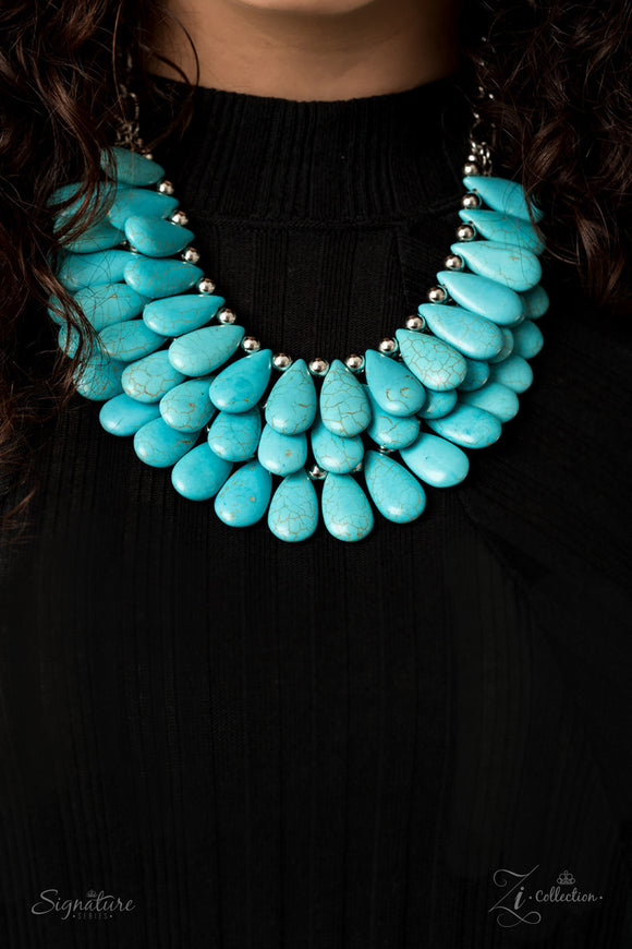 The Amy - 2020 Zi Collection Necklace - Paparazzi Accessories