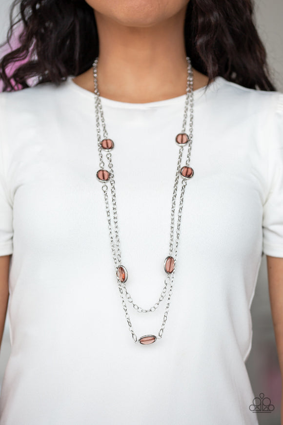 Back For More - Brown Necklace - Paparazzi Accessories