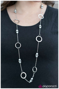 Call Me Irresistible - Silver Necklace - Paparazzi Accessories