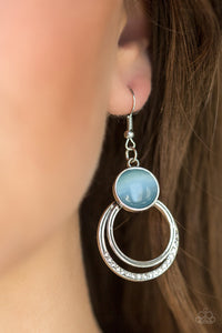 Dreamily Dreamland - Blue Earrings - Paparazzi Accessories