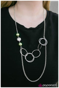 Expressionist - Green Necklace - Paparazzi Accessories