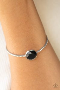 Illumination Station - Black Bracelet - Paparazzi Accessories