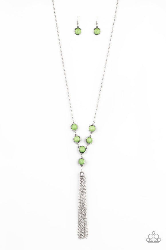 Rural Heiress - Green Necklace - Paparazzi Accessories