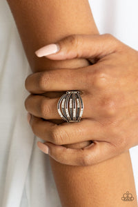 Securing My Finances - White Ring - Paparazzi Accessories