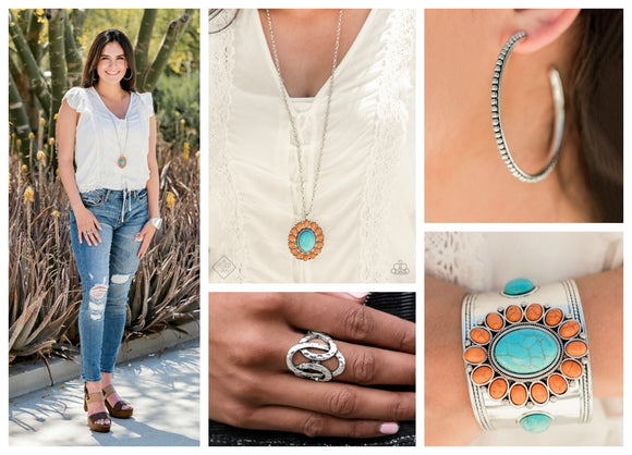 Simply Santa Fe - Complete Trend Blend - June 2019 Fashion Fix - Paparazzi Accessories