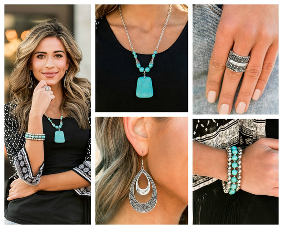 Simply Santa Fe - Complete Trend Blend - December 2019 Fashion Fix - Paparazzi Accessories