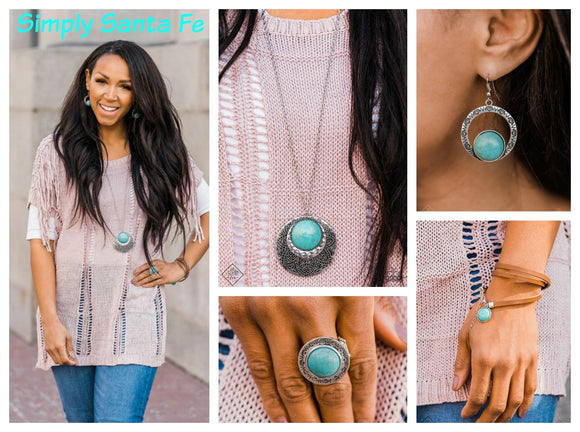 Simply Santa Fe - Complete Trend Blend - April 2019 Fashion Fix - Paparazzi Accessories
