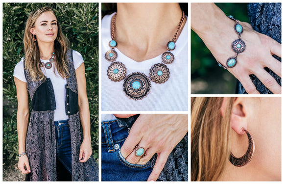 Simply Santa Fe - Complete Trend Blend - June 2018 Fashion Fix - Paparazzi Accessories