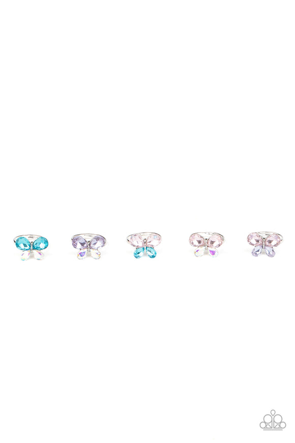 Starlet Shimmer - Kids Rings - P4SS-MTXX-243XX - Paparazzi Accessories